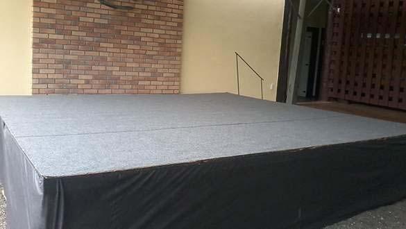 Aluguel de palcos e tablados