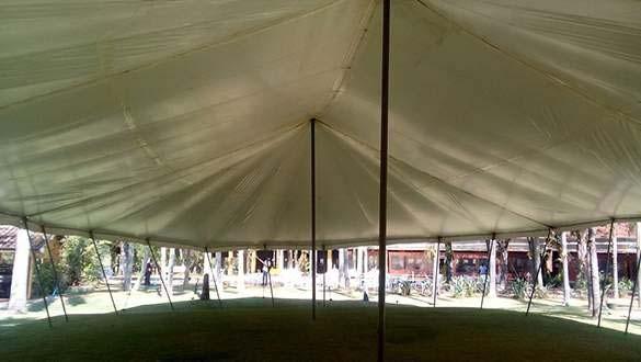 Aluguel de tenda tipo circo