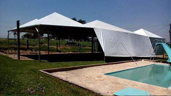 Locação de tendas e palcos